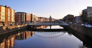 bridge, dublin, ireland