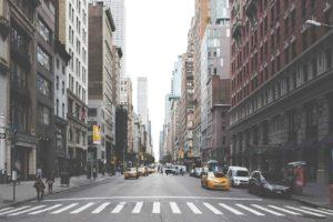 downtown, new york, city