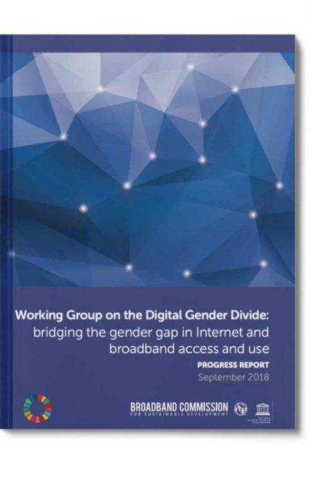 digital gender divide progress report 2018
